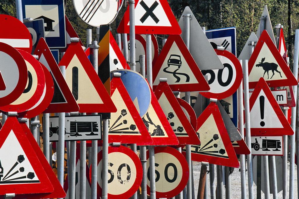 На дорогах Киевщины появятся новые дорожные знаки